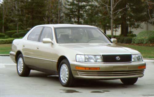 Первый Лексус LS400   1990-1994. Спецификации.